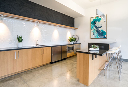 BellUptownDistrict_Clubhouse Kitchen