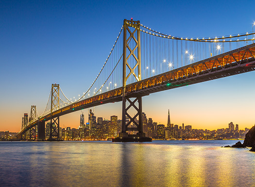 Golden Gate Twilight