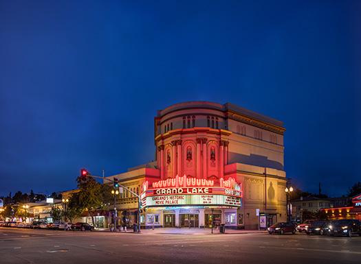 Oakland Theatre Twilight